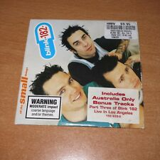 BLINK-182 - ALL THE SMALL THINGS - AUSTRALIA ONLY 4 TRACKS CD SINGLE CARDSLEEVE