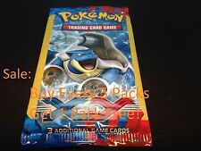 1 Random Artwork Pokemon XY Dollar Tree 3-card Booster Pack - Factory Sealed