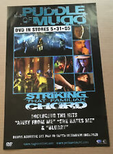 Puddle Of Mudd 2005 Promo Poster of Striking Dvd Usa 11x17 Never Displayed