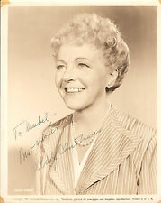 "MADY CHRISTIANS in ""All My Sons"" Original HAND SIGNED Vintage Photo 1948"