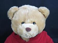 BIG NEW AEROPOSTALE AERO HOLIDAY BROWN TEDDY BEAR RED POLO SHIRT PLUSH STUFFED