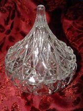 "GODINGER Dublin Crystal Glass ""Hershey's Kiss"" Candy Dish"