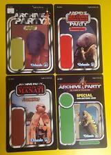 Archive Party Star Wars Celebration 2012 vintage proof card style set Orlando