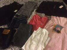 Large Lot Of  Woman's Clothing, Size Medium And Ear Rings
