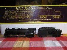 MTH RAIL KING NYC O GAUGE L-3 MOHAWK 4-8-2 MT1101 #3000 OB EXCELLENT +