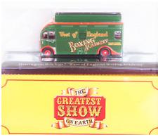 "DIE CAST MODEL CIRCO "" Harrington Box Van West of England ""  1/76 ATLAS  (110)"
