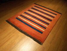 5 x 6 Handmade Vegetable Dye Hand Spun Soft Wool Thick Afghan Gabeh Area Rug