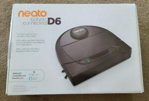 NEATO Botvac Connected D6 Robotic Vacuum Cleaner Black D601 - Sealed w/ Receipt