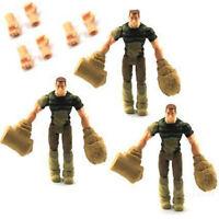 NEW MARVEL SPIDER-MAN SANDMAN FIGURE & 2 HANDS LEGENDS FIGURE FX85*3