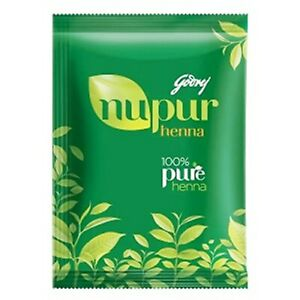 Godrej Nupur Herbs 120g x12 Henna Natural Mehandi Powder Lot of 12 Free Ship