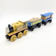 Thomas & Friends Train Wooden Stepney Museum T-Rex Fossil & Jewel Treasure Car