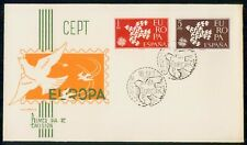 Mayfairstamps Spain Fdc 1961 Europa Doves Madrid First Day Cover wwi_75653