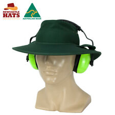 Newcastle Hats Earmuff Hat (Standard) Wide Brim UPF50+