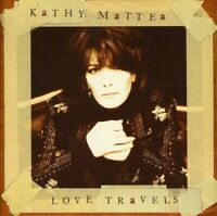 Love Travels - Music CD - Mattea, Kathy -  1997-02-04 - Mercury - Very Good - Au