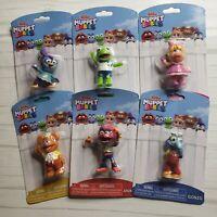 Disney Junior Muppet Babies Mini Figures Animal Gonzo Miss Piggy Kermit Set
