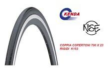 COPPIA COPERTONI-PLEUMATICI PER BICI CORSA - FIXED 700 X 23 KENDA RIGIDI