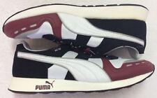 Puma RS100 AW Men's Shoes #356331 | Sz 11.5 | White-Cabernet-Black