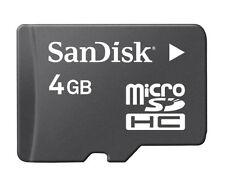SanDisk 4GB Class 4 - MicroSDHC Card - SDSDQ004GA46A