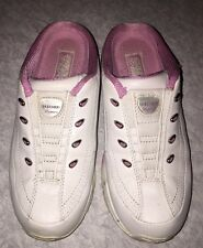 Sketchers Women's Athletic Gym Sports Shoes Sneakers Pink SZ 6 no laces