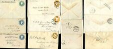 INDIA QV STATIONERY 1895-99...6 ITEMS...INTERNAL + to GB