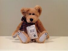 "1997 Boyds Collection Mohair Teddy Bear 10"" Cater M. Bearington"