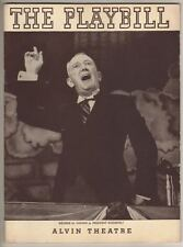 """George M. Cohan  """"I'd Rather Be Right""""  Playbill  1937  Rodgers & Hart"""