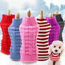 Pet Dog Cute Sweater Clothes Puppy Cat Knitwear Knitted Coat Winter Warm Jumper