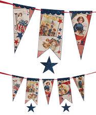 "Bethany Lowe Designs 4th of July ""Americana Star Garland"" Tl8719"