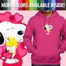 Peanuts Snoopy Woodstock Love Valentine Heart Pullover Sweatshirt Hoodie Sweater