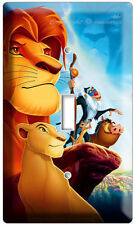 NEW LION KING SIMBA FROM DISNEY'S 3D MOVIE SINGLE LIGHT SWITCH WALL PLATE COVER