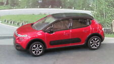 2018 CITROEN C3 1:64 (Red/Black) Norev MIP Diecast Passenger Car