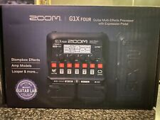 Zoom G1X Four Multi Effects Expression Pedal Free Shipping