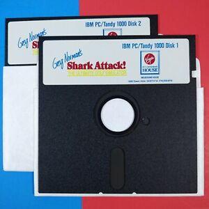 Greg Norman's Shark Attack Golf Simulator IBM PC vtg game software sold as blank