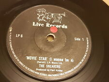 "The Sneakers, Movie Star (I Wanna Be A), Changes, UK, 1980, LP6, 7"", 45 RPM,"