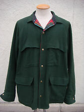 Men's Vintage Authentic Woolrich Wool Coat - Size XL