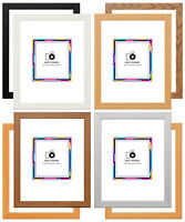 Wood Effect Picture Frame Poster Frames All Sizes, Colours,Hang or Stand Display