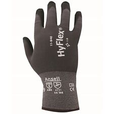 2x Ansell HYFLEX GENERAL PURPOSE GLOVES 1-Pair Medium, Tear & Puncture Resistant