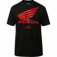 Fox Racing Honda Premium s/s Tee Black Adults Mens size Large