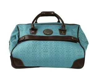 Reba Santa Fe Turquoise Blue Bag Carry-On & Rolling