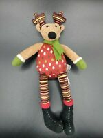 "Starbucks Reindeer 12"" Holiday Stuffed Animal Plush 2009"