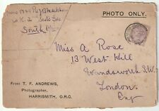 1901 CARD FRONT T F ANDREWS PHOTOGRAPH ONLY BOER WAR BRITISH ARMY FPO >LONDON UK