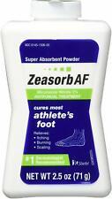 Zeasorb AF Antifungal Athlete's Foot Treatment 2.5 Ounce