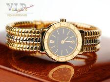 Bulgari Bvlgari tubogas reloj Ilena fantastico montre 18k/750 Solid Gold watch rar