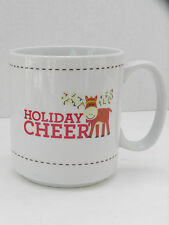 The Coffee Bean & Tea Leaf Christmas Moose Holiday Cheer 16 oz Mug Cup NWT