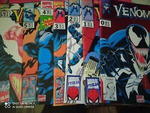 Venom Marvel Italia come Nuovi 1994-1995 numeri da 0 a 6 no uomo ragno spiderman