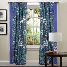 Indian Paisley Mandala Cotton Curtain Balcony Wall Drapery Door Window Curtains