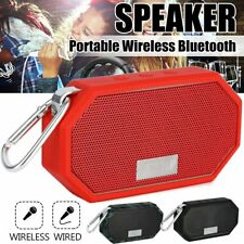Mini Portable Bluetooth Wireless Super Bass Stereo Speaker For Smartphone Tablet