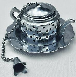 VINTAGE FRENCH TEA STRAINER,TRADITIONAL TEA INFUSER KITCHENALIA