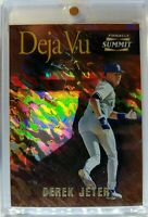 Rare: 1996 Pinnacle Summit Above and Beyond RIPKEN /DEREK JETER Rookie RC #154