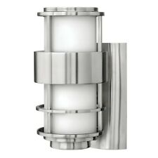 Hinkley Lighting Saturn 1 Light Outdoor Sm Wall Mount, Stainless Steel - 1900SS